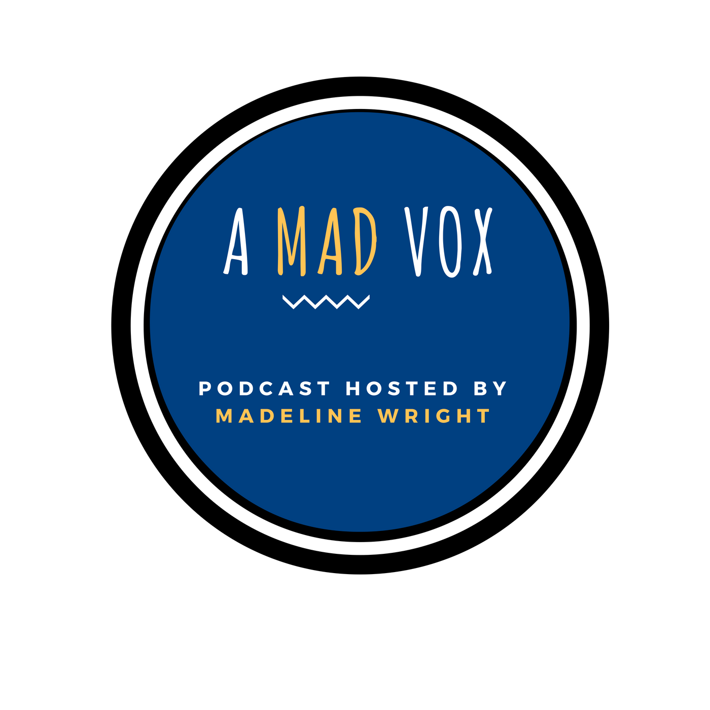 A Mad Vox Podcast logo